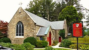 Valle Crucis Episcopal Mission - Church of the Holy Cross