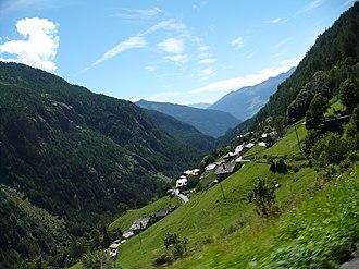 Valpelline (valley) - View of the upper Valpelline