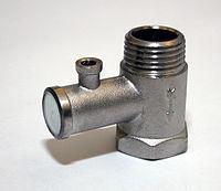 V lvula de alivio de presi n wikipedia la enciclopedia for Valvula de seguridad termo electrico