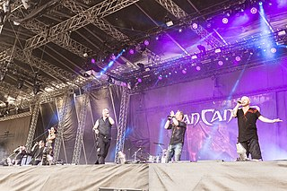 <i>Van Canto</i> German a cappella metal band
