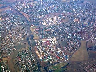 Vanderbijlpark - Image: Vanderbijlpark from the air