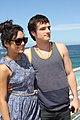 Vanessa Hudgens and Josh Hutcherson (6718740691).jpg