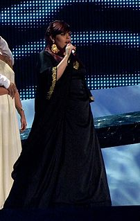 Vânia Fernandes Portuguese singer