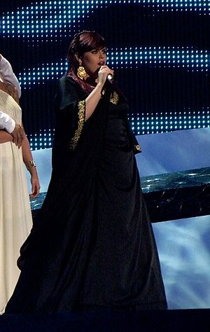 Portugal in the Eurovision Song Contest 2008 - Vânia Fernandes