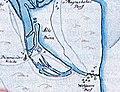 Vecāķi 1701. gada kartē.jpg