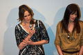Vera Farmiga and Michelle Monaghan at the Source Code premiere (cropped).jpg