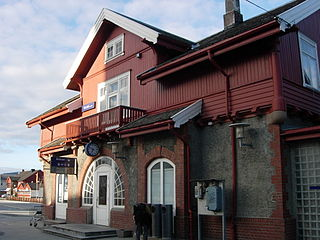 Verdal Station railway station in Verdal, Norway