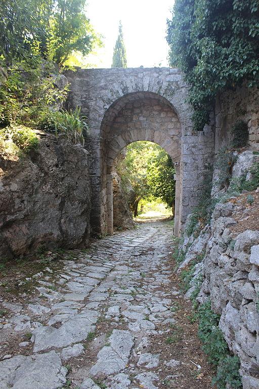 Via Clodia - Porta Romana