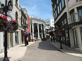 Rodeo Drive - European-style buildings on Two Rodeo Drive