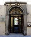 Via alfani, opificio, poortale di ingresso al museo.JPG