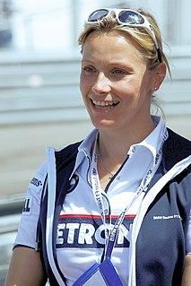 Vicki Butler-Henderson British racing driver