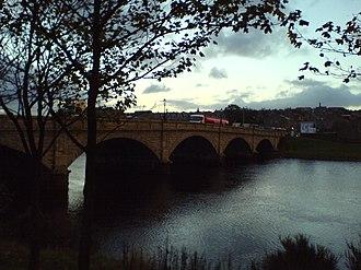 Transport in Aberdeen - Victoria Bridge, Torry