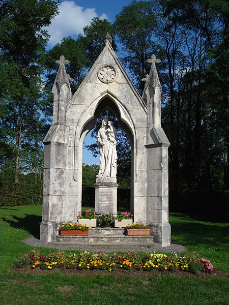 Vierge de Durnes (Doubs, France).