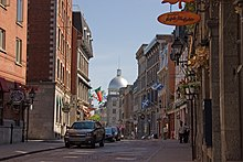 Many early colonial buildings dating back to the late 16th and 17th  centuries may be found in Old Montreal.