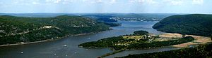 Bear Mountain State Park - View of the Hudson River from Bear Mountain