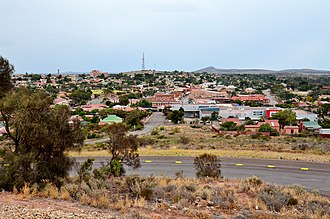 Whyalla - View of the city from Hummock Hill