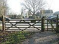 View from Parsonage Field across the car park to Catherington Lane - geograph.org.uk - 1098260.jpg