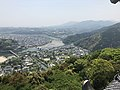 View from Tenshu of Iwakuni Castle (south) 2.jpg