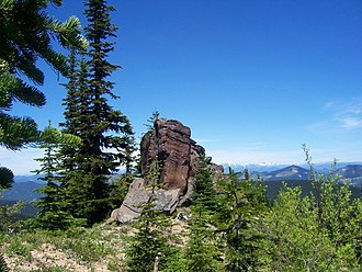 Norse Peak Wilderness - View from the Lost Lake Trail in the Norse Peak Wilderness