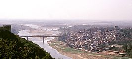 View of Jammu city and the Tawi River.jpg