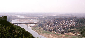 Jammu Division - View of Jammu city and the Tawi River