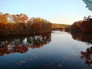 Quinebaug River - Quinebaug River in Canterbury, CT