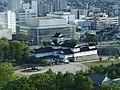 View of Toyama Castle from Toyama City Hall.jpg