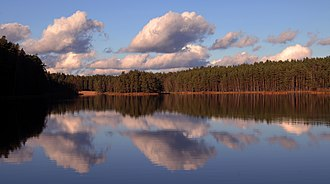Kadrina Parish - Image: Viitna Suurjärv (foto Martin Suuroja)