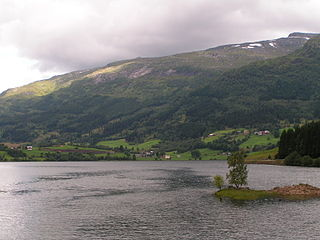 Sunnfjord District in Vestland, Norway