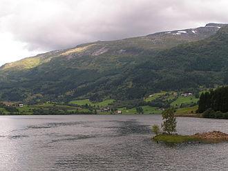 Sunnfjord - View of Viksdalsvatnet