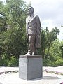Viktor Hambardzumyan statue, Yerevan 07.jpg