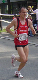 Viktor Röthlin Swiss marathon runner