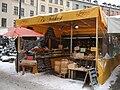 Viktualienmarkt - market stall of cheese - Munich - geograph.org.uk - 7730.jpg