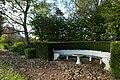 Villa Boes, zitbankje in de tuin - 371735 - onroerenderfgoed.jpg