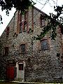 Villa Eickhoff Wirtschaftsgebäude Giebelfront.JPG