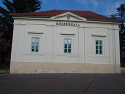 Village hall. Listed ID 6914. - Budajenő, Hungary.JPG