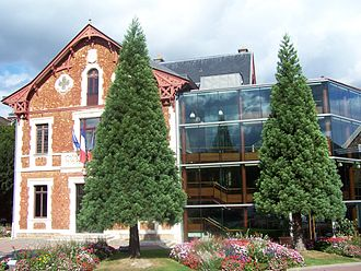 Viroflay - The town hall in Viroflay