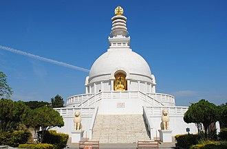 Wardha - The Viswasanthi Stupa in Wardha.