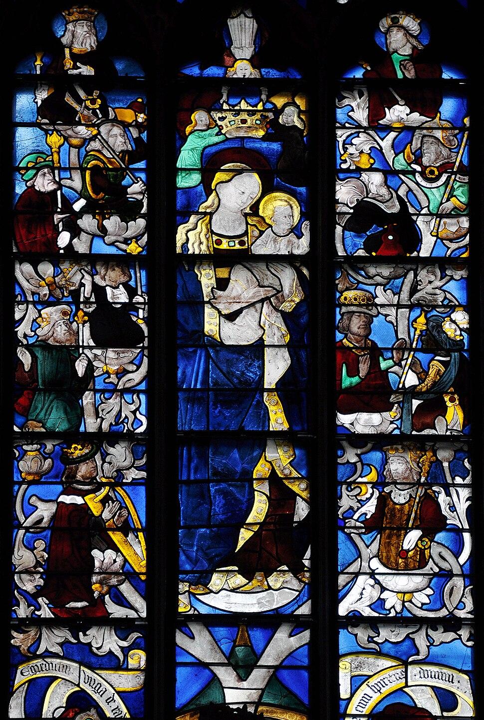 Vitrail Cathédrale d'Evreux 22 02 09 13