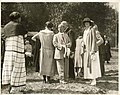 Vivian Carkeek and others at Carkeek Park annual luncheon, Seattle, August 28, 1924 (MOHAI 9063).jpg