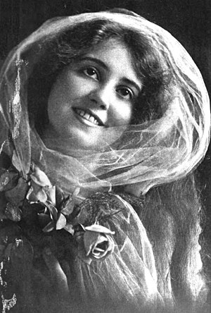 Vola Vale - Publicity photo from Motion Picture Magazine (August, 1915)