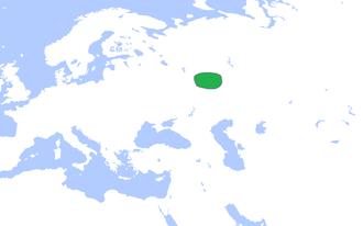 Volga Bulgaria - Volga Bulgaria (green), c. 1200