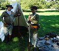 Volunteers demonstrating weapons Washington Crossing NJ State Park.JPG