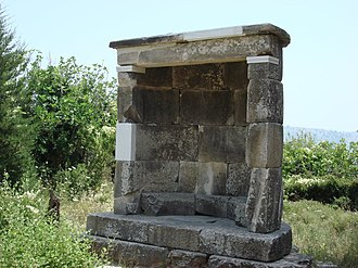 Dionysos, Greece - The Dionysos Monument today.