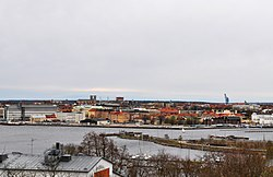 Skyline of Karlskrona in May 2010