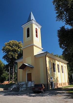 Vyzhnytsia - Image: Vyzhnytsia Petra i Pavla kosciol DSC 5786 73 205 0006