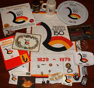 WAY 79 - Some of the range of memorabilia issued as part of the WAY'79 celebrations.