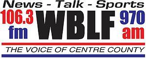WBLF - Image: WBLF 106.3 970 logo