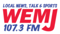 WEMJ 107.3 FM Logo (March 16, 2016).png