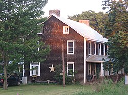 The Wable-Augustine Tavern, a historic site in the township
